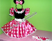 fantasia minnie rosa