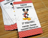 Calling Cards Kids- Mickey
