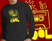 CAMISETA LONGA - OLD IS COOL - 89003
