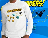 CAMISETA LONGA GEEL SPACE INVADERS -8758