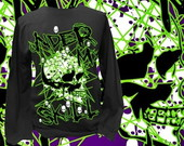 CAMISETA LONGA UNDER MY SKULL- 91191