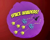 ALMOFADA REDONDA SPACE INVADERS - 94053