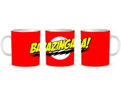 Caneca Bazinga (the big Bang Theory)