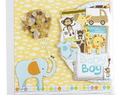 �LBUM SCRAPBOOK SAFARI BOY