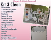 KIT 3 CLEAN LOCA��O