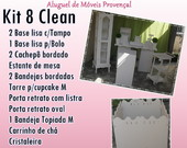KIT 8 CLEAN LOCA��O