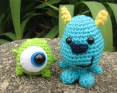 Sulley e Mike beb�s - Monstros SA