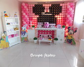 Decora��o da Minnie -personalizada Clean
