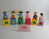 Cubos Backyardigans Piratas