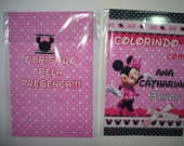 Kit Colorir Minnie\Mickey