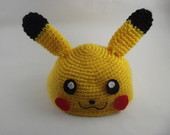 ◕ ‿ ◕ Touca Pikachu ''pokemon''