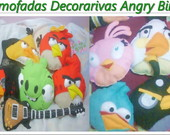 COLE��O Almofada Decoratiiva Angy Birds