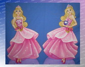 DISPLAY DE CH�O BARBIE ESCOLA PRINCESAS