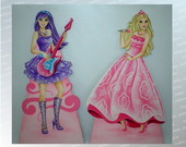 DISPLAY DE CH�O BARBIE POP STAR