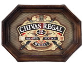 Placa Decorativa Chivas Regal (55 x 39)