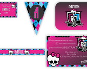 Kit festa Digital Monster High