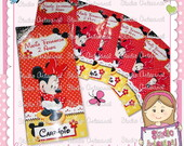 Card�pio Personalizado - Minnie