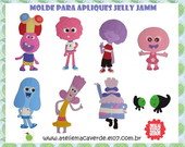 Molde Decora��o JELLY JAM