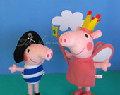 Peppa Princesinha e George Pirata