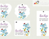 Kit Tags - Etiquetas Design! mod41