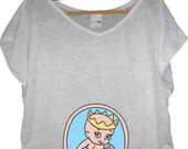 T-shirt Princesa na Barriga