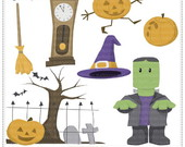 Halloween Vol3 Clipart Digital