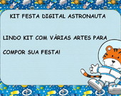 KIT FESTA DIGITAL: ASTRONAUTA