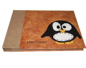 Album artesanal do Pinguim peq  20x15