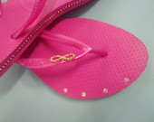 Havaianas Slim Strass Lateral LIGHT PINK