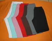 bermudas cotton colors