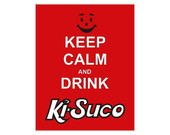 Placa MDF Retr�- Keep Calm Ki-Suco - 606