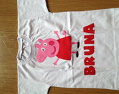 Body  Ou Camiseta Peppa Pig