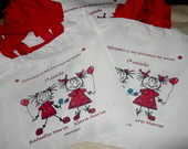 ECO BAG PERSONALIZADA AL�A COLOR 30x30