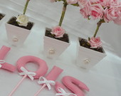 KIT: LETRAS DECOR + SWEET FLOWERS!