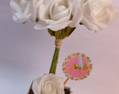 Sweet Flowers - Modelo La�os & Toppers