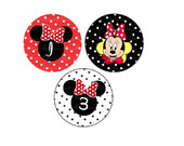 Mini Toppers Minnie Vermelha