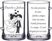 canecas casamentos