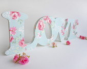 Letras Decorativas - Love Rom�ntico