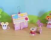 Mini cen�rio decorativo Lalaloopsy