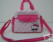 Bolsa P Rosa Cole��o Pv Monster High