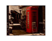 Quadro London Telephone S�pia - 651