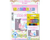Kit Colorir Pocket C/ Giz De Cera