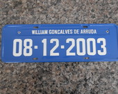 PLACA WILLIAM COM DATA