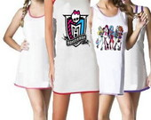 camisola com estampa moster high