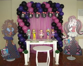 DECORA��O PROVEN�AL MONSTER HIGH
