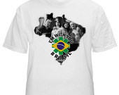 Camiseta Mapa Red Hot - Sp 2013 Branca