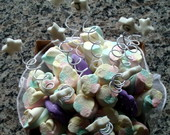 Buqu� de marshmallows lil�s c/ person.