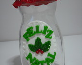 Pote decorado natal (VENDIDO)