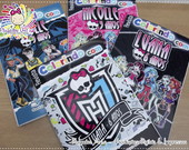 Revista Colorir Monster High
