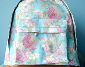 Mochila  Romantic Flower